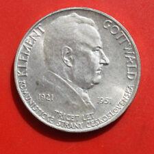 Tschechien-Czeskoslovenska: 100 Korun 1951 Silber, KM# 33, VZ-XF, #F 1575