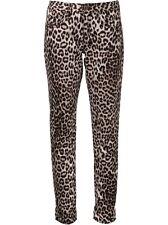 $198 RAG & BONE Boyfriend Jeans Snow Leopard  Animal Print Wash - Sz 23