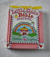 Little Girls Bible Storybook for Mothers Daughters Hardcover 1998 Carolyn Larsen