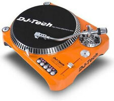 DJ TECH SL1300MK6USB-ORA Direct Drive USB Turntable w/ USB Output (Orange)