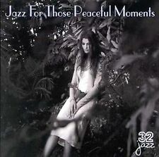 SONNY STITT + ~ JAZZ FOR THOSE PEACEFUL MOMENTS ~ CD 2000 BRAND NEW 32 JAZZ