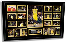 LEBRON JAMES LA LAKERS 2018 SIGNED PHOTO LIMITED EDITON FRAMED MEMORABILIA