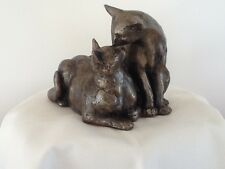 Frith Sculpture FELIX & OSCAR by Paul Jenkins in cold cast bronze - S096