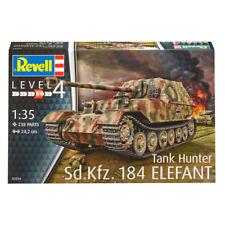 Revell Sd.Kfz. 184 Tank Hunter Elefant (Level 4) (Scale 1:35) NEW