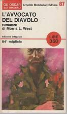 L'AVVOCATO DEL DIAVOLO - MORRIS L. WEST