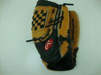 "RAWLINGS RBG36TB 12 1/2"" Leather Fastback Baseball Glove RHT Right Hand Throw"