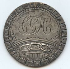 Love Token 1827 Bust Half (#6695) No Hole. Beautifully Detailed. If this were