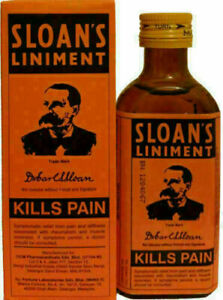 ORIGINAL SLOAN'S PAIN KILLER LINIMENT/OIL INSTANT RELIEF FROM SWELLING 71ml