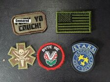 Lot of 5 velcro airsoft patches