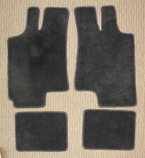 Ebony Lloyd Ultimat Carpet 4pc Floor Mat Set for 1997-2002 Saturn SC1 & SC2