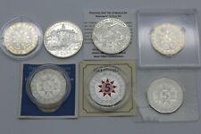 PRAGER: Österreich, 5x 5 Euro 2005-13 + 2x 10 Euro 2002 2010, Silber [Y65] #k