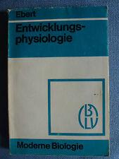 BLV Ebert Moderne Biologie Entwicklungsphysiologie