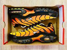 Nike Air Max Plus Sunset Orange Red Black Running Shoes 852630-040 Men's Size 13