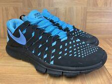 RARE🔥 Nike Free Trainer 5.0 Black Gamma Blue Sz 12 Men's Shoes 579809-004 LE