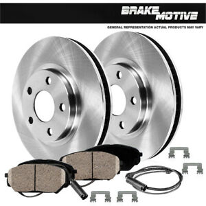 For Mercedes Benz ML320 ML350 ML430 Front Brake Disc Rotors And Ceramic Pads