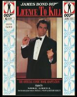 James Bond Licence to Kill 1989 Movie Adaptation Trade Paperback TPB 007 MI6 Spy