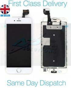 iPhone 6S Plus White 5.5'' Screen LCD with Camera, Button, Speaker and Adhesive