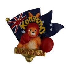 3D Australia Boxing Kangaroo Aussie Flag Fridge Magnet Australian Souvenir NEW