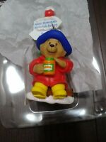 Rare Paddington's Christmas Journey Ornament Gibson Cards Bear