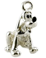 STERLING SILVER PLUTO DOG CHARM