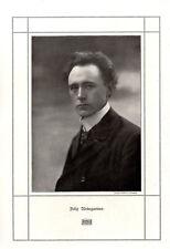 Felix Weingartner Dirigent Foto-Kunstdruck von 1909