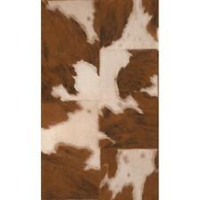Rasch Vaca Skin patrón imitación efecto de los animales de piel Texturada Con Estampado Wallpaper 473902