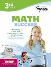 Sylvan Super Workbook: Third Grade Super Math Success NEW Paperback