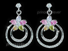 Simulated Topaz Drop/Dangle Fashion Earrings