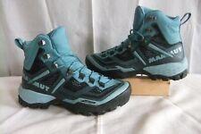 Mammut Ducan High Gtx Womens Boots UK 4.5 Blue Vibram sole Excellent Condition