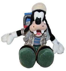 "Disney Bean Bag Plush Goofy Hiking, NWT, 11"""
