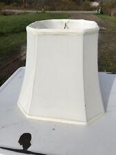 Lamp Shade Octagonal Shape White