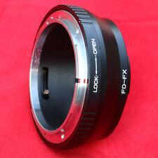 Canon FD lens to FX fujifilm camera adapter for X-A30 T2 T20 E2 A3 A2 T1 E2