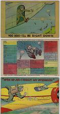 Tre cartoline satiriche - nuove