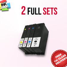 2 Full Sets non-OEM Ink for LEXMARK S405 S408 S502 S505 S508 S601 S602 S605 S608