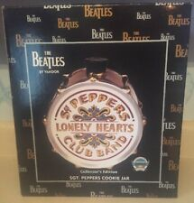 Sgt. Peppers Lonely Hearts Club Band Cookie Jar Collectors Edition