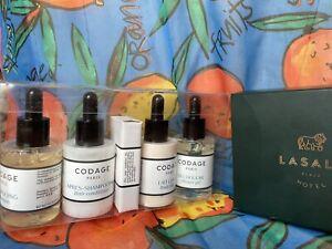 CODAGE Paris France Shower Gel Hair Shampoo Conditioner Body Lotion 5 Piece Set