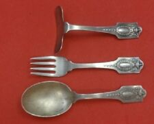 Adam By Shreve Sterling Silver Baby Set 3pc
