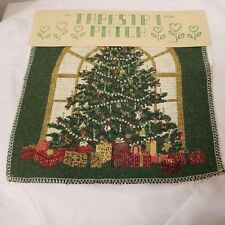 """Tapestry Patch Ideas Panel Christmas Morning  9"""" x 9"""" RN 56181 Brand New"""