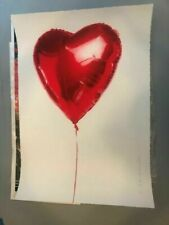 Mr. Brainwash Art Poster Print Hold On To My He(ART) Heart Valentines Day Banksy