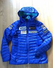 USED  US Ski Team Spyder Down Puffer Jacket Women's L