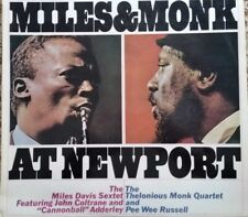 MONO MILES DAVIS & THELONIOUS MONK - MILES & MONK AT NEWPORT LP - OZ CBS 233139