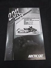 Arctic Cat OEM 2011 Mountain / Crossover Models Operator's Manual 2258-798