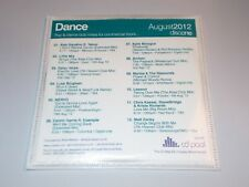 VARIOUS - Dance UK 2012 CD Pool 2 x CD test press MARINA & THE DIAMONDS/MADONNA