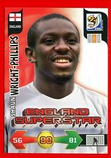 SOUTH AFRICA 2010 - Adrenalyn Panini - Card ENGLAND SUPERSTAR - WRIGHT-PHILLIPS