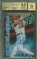 2015 Mike Trout Topps High Tek Black Galactic Diffractor AUTO BGS 9.5 w/10 1/1
