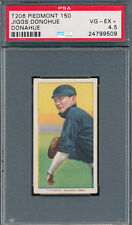 INK MISSING FAINT NAME PSA GRADED 4.5 VG-EX+ T206 JIGGS DONOHUE DONAHUE PIEDMONT