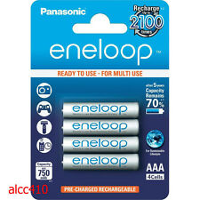 Panasonic  Eneloop 750mAh AAA Precharge  Rechargeable Battery HR-4UTGB 4pc 3A