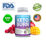 Keto BURN Diet Pills 1200 MG Ketosis Weight Loss Supplements To Fat Burn & Carbs