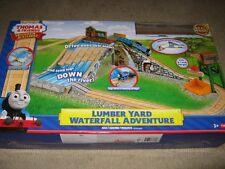 Thomas & Friends Wooden Railway Lumber Yard Waterfall Adventure Set  -FREE POST!