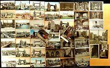51 Vintage Postcards Tower of London & Tower Bridge London Bridge LONDON UK 1905